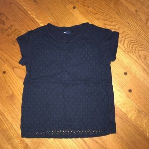 Girls Navy Gap T-Shirt size M